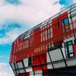 fachada ventilada de la web aluminio y cristal francis
